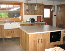 Kitchens in beautiful wood